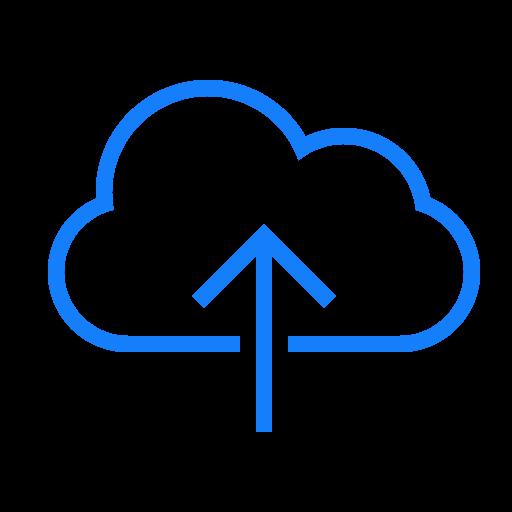 Upload, Cloud Icon