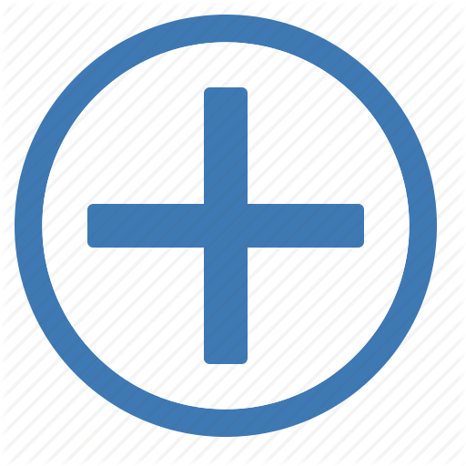 Add, Blue, Circle, Create, New, Plus, White Icon