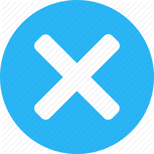 Close, Cross, Delete, Exit, Not Save, Remove, Trash Icon