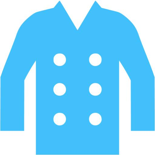 Caribbean Blue Coat Icon