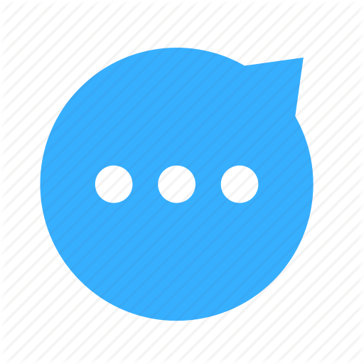 Chat, Cloud, Cloudy, Dialogue, Dot, Right, Up Icon