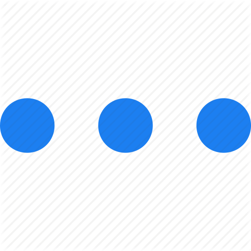 Dots, Menu, Navigation Icon