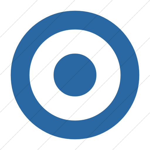 Simple Blue Bootstrap Font Awesome Dot Circle O Icon