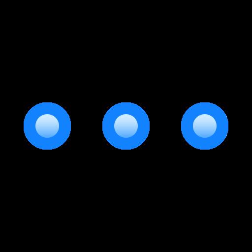 More, Dots, Hidden, Functions, Horizontal, Menu Icon