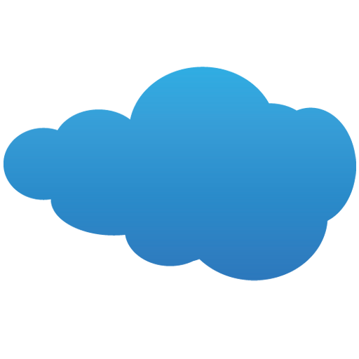 Blue Cloud Icon Download Free Icons
