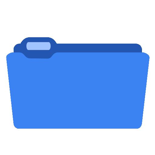 Folder Blue Icon Iconshow