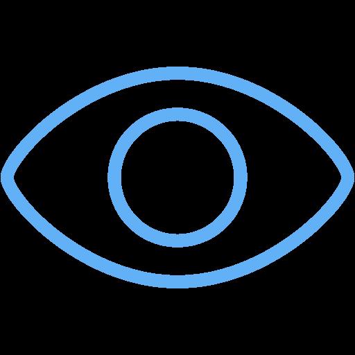 Tropical Blue Eye Icon