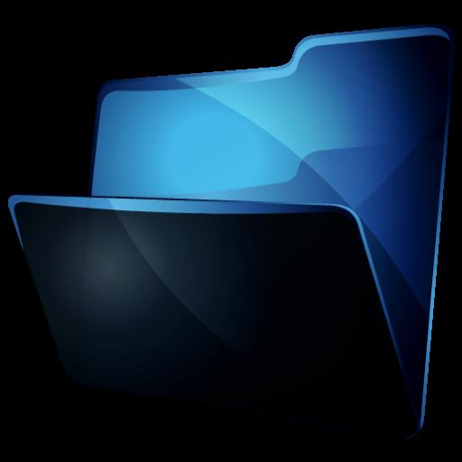 Download Blue Folder Icon Png Images