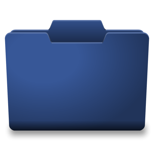 Blue Closed Icon