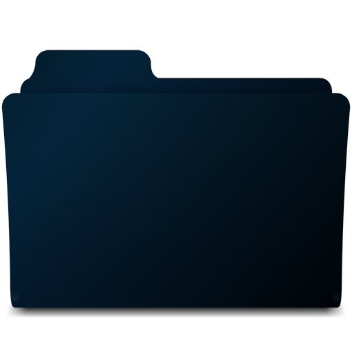 Blue Folder Icon Project Images