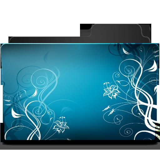 Blue Ornament Icon