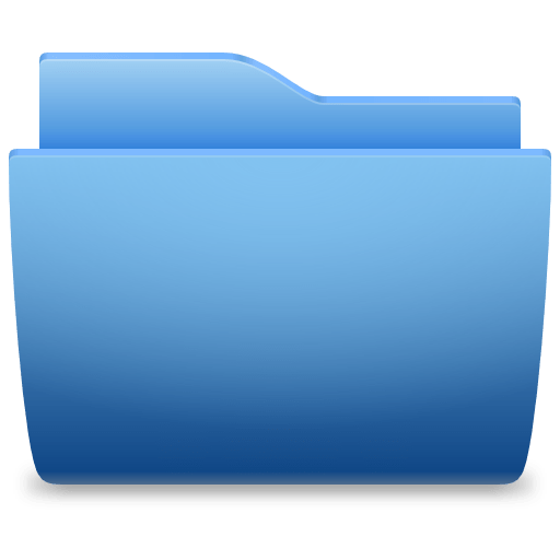 Download Free Png Folder Icon Blue Classic Dlpng