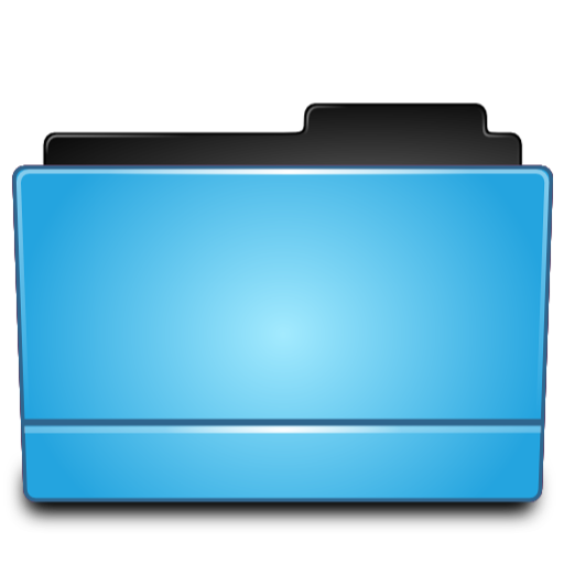 Folder Blue Icon Free Download As Png And Icon Easy