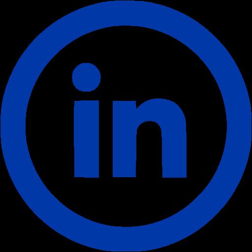 Royal Blue Linkedin Icon Free Site Logo Icons Logo Image