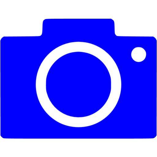 Blue Google Images Icon