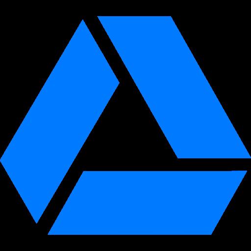 Drive, Blue, Alternate, Google Icon