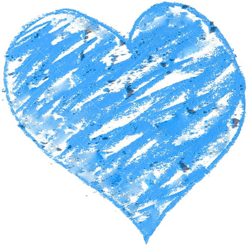 A Blue Heart If It Is Not Blue, It Will Be!