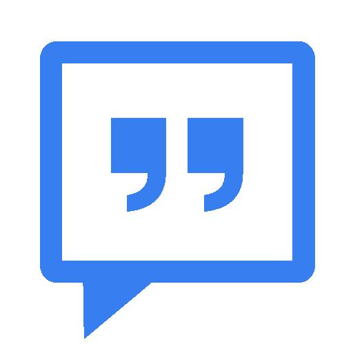 Communication Messenger Blue Icon
