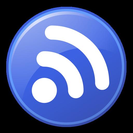 Feeds Blue Icon