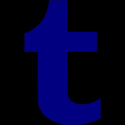 Navy Blue Tumblr Icon