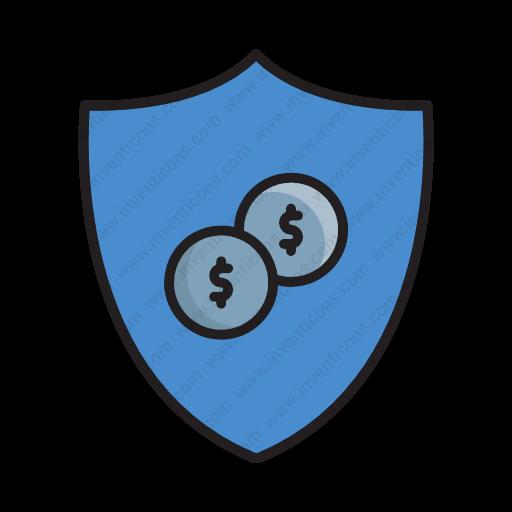 Download Shield Money,shield Money Icon Inventicons