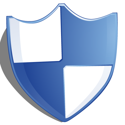 Protection, Blue, Shield Icon