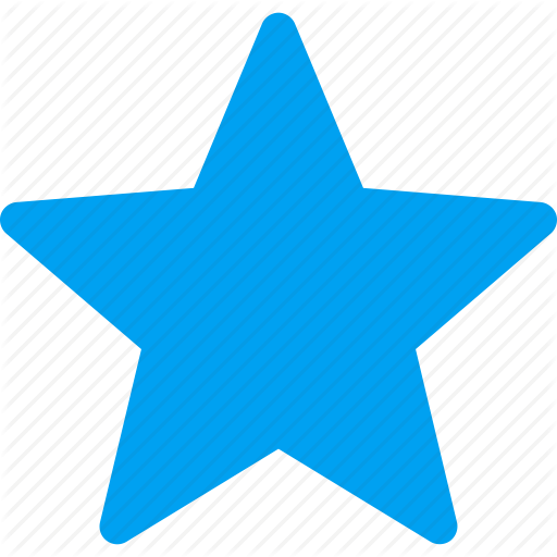 Badge, Best, Blue Star, Favorite, First, Guarantee, Hit Parade Icon