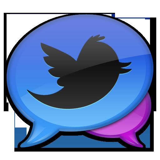 Blue Tweet Icon