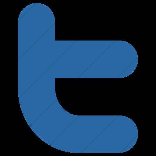 Simple Blue Raphael Twitter Icon