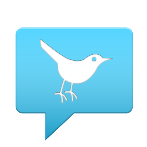 Blue Twitter Bird Icon Download Free Icons