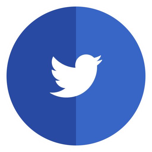 Blue Twitter Logo Icon Free Icons Download