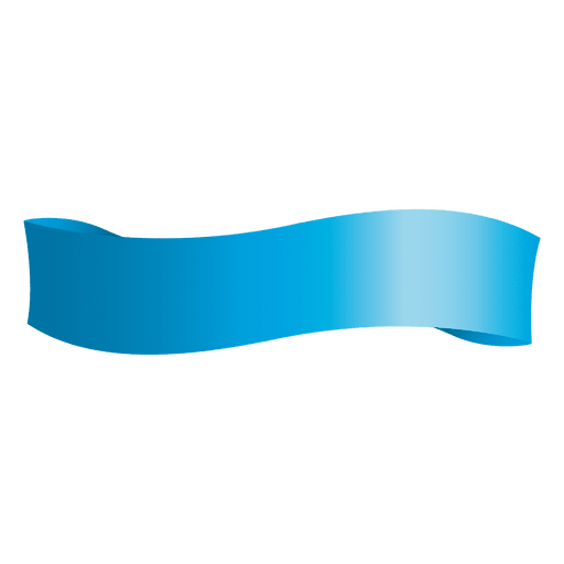 Blue Wave Ribbon