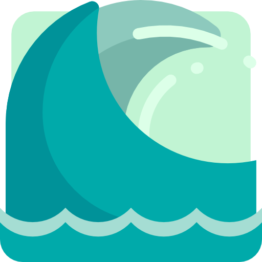 Waves, Ocean, Wave, Beach, Summer, Water, Nature, Sea Icon