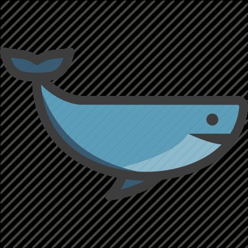 Baleen, Blue, Cetacea, Whale Icon