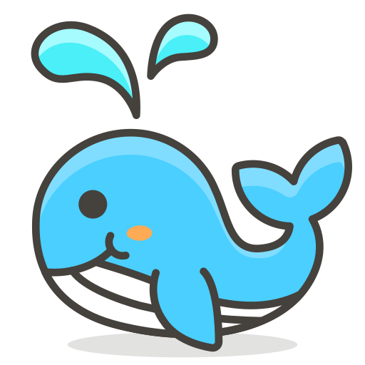 Spouting, Whale Icon Free Of Free Vector Emoji