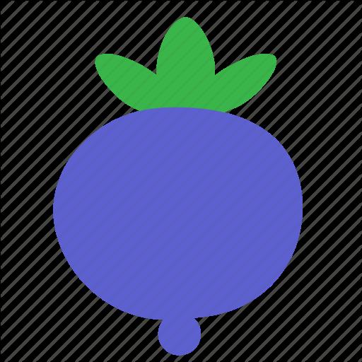 Berry, Blueberry Icon