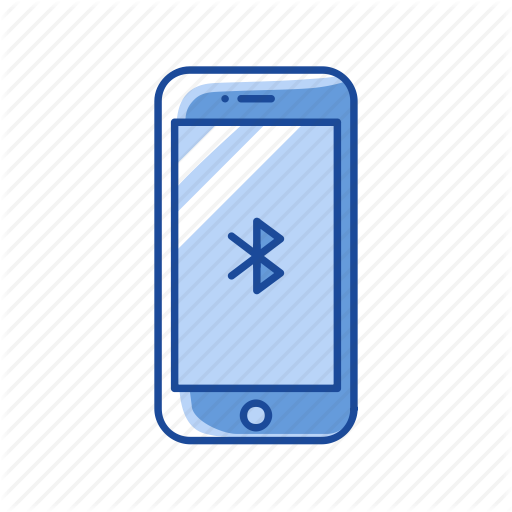 Bluetooth, Connection, Mobile Bluetooth, Phone Icon