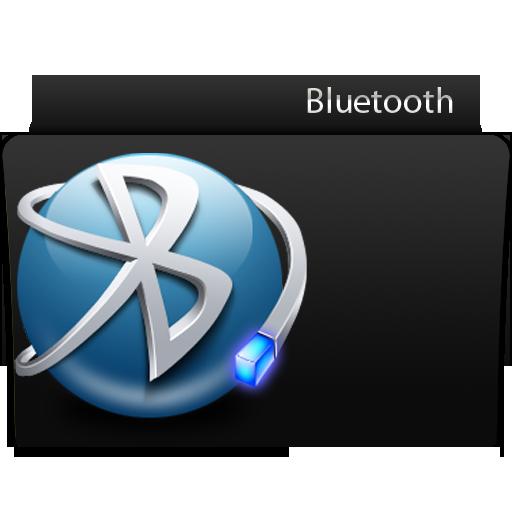 Folder Bluetooth Icon