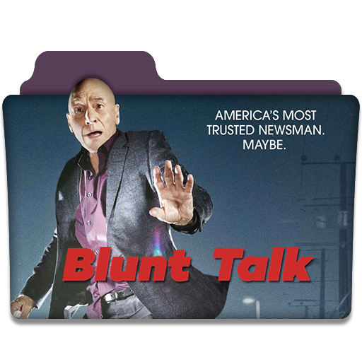 Blunt Talk Tv Series Folder Icon
