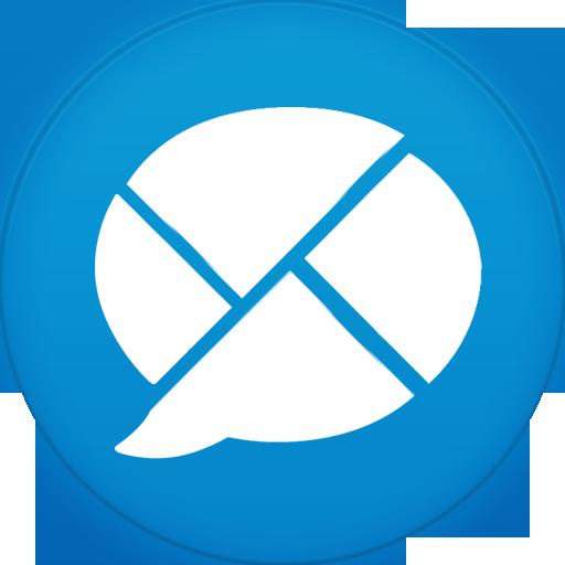 Google Buzz Icon Circle Addon Iconset