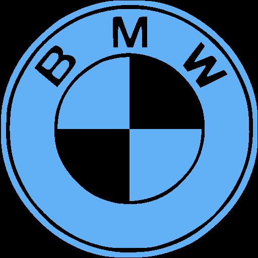 Tropical Blue Bmw Icon