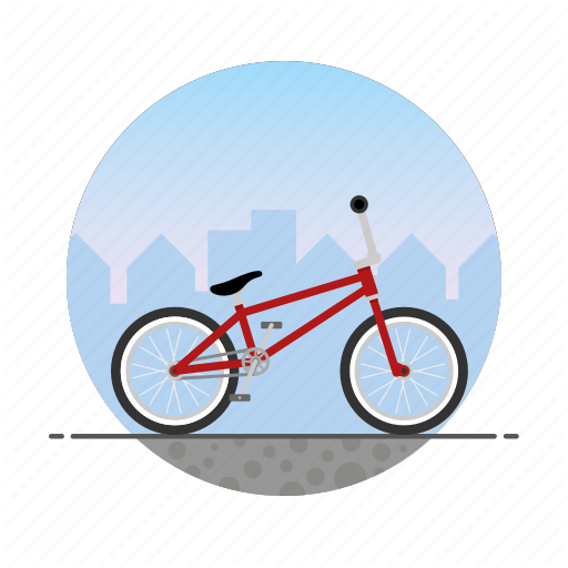 Bicycle, Bike, Bmx, Circle, Freestyle, Racing Icon