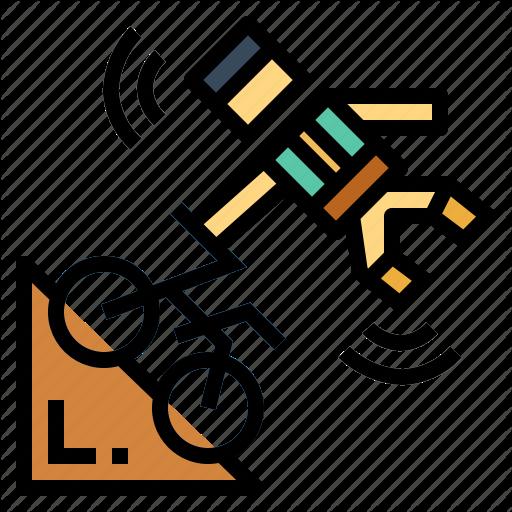 Bike, Bmx, Exercise, Sports Icon