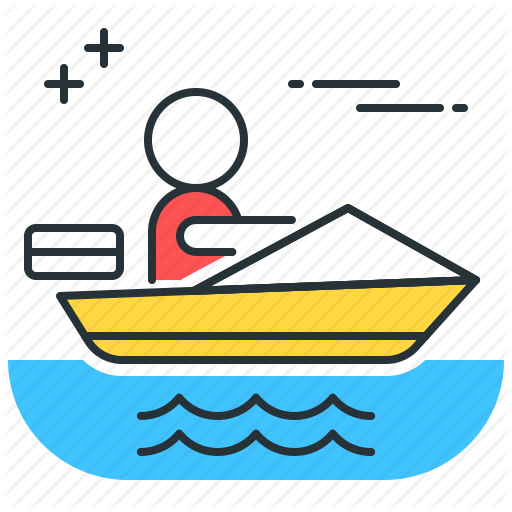 Boat, Boating, Speed Boat Icon
