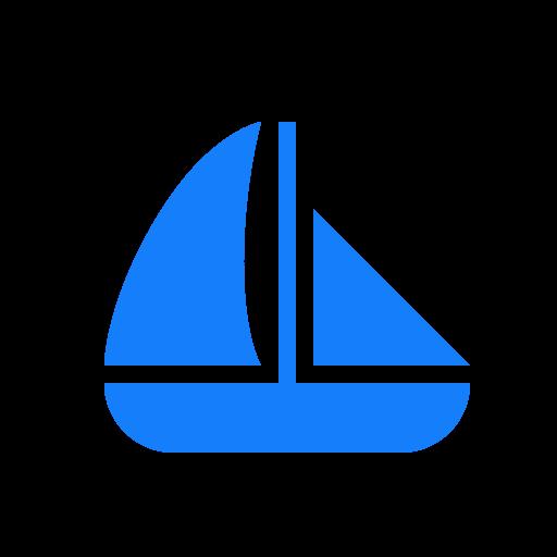 Boat, Sailing Icon