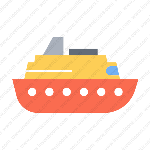 Download Transport,boat,flat Icon Inventicons