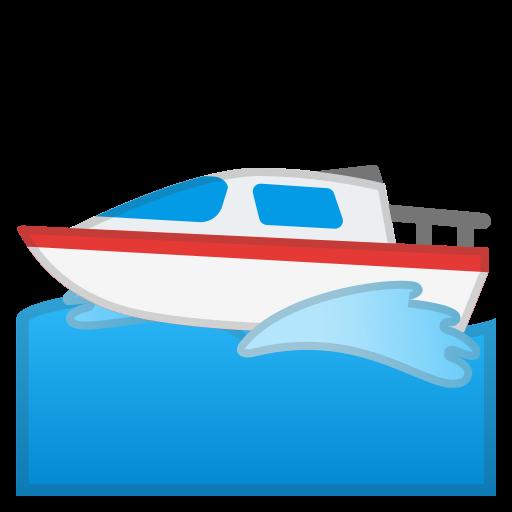 Motor, Boat Icon Free Of Noto Emoji Travel Places Icons