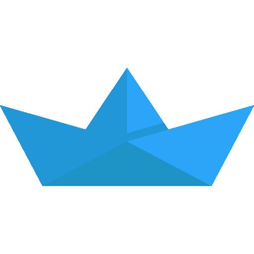Paper Boat Icon