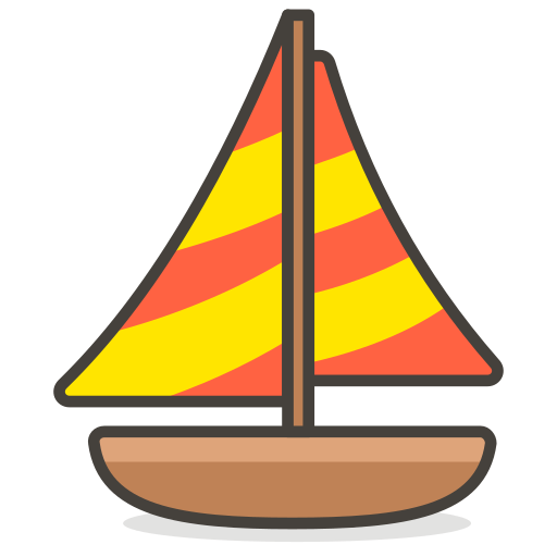 Sail, Sailboat, Boat Icon Free Of Another Emoji Icon Set