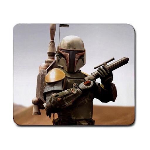 Boba Fett Star Wars Movie Gaming Gamers Laser Optical Non Slip